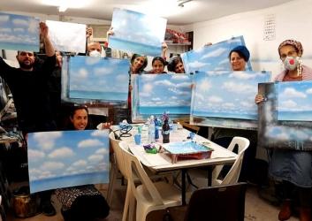 בואו ללימוד ציור בבית הלל