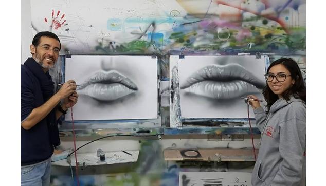 הכשרת ציירי איירבראש וקירות