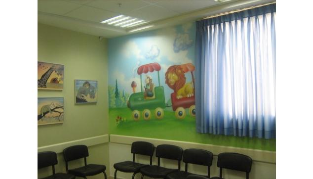 חדר המתנה במרפאה