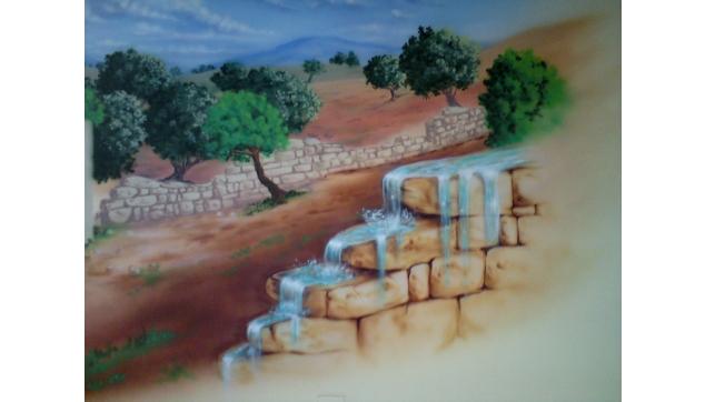 ציורי קיר בבתי כנסת ומקומות קדושים