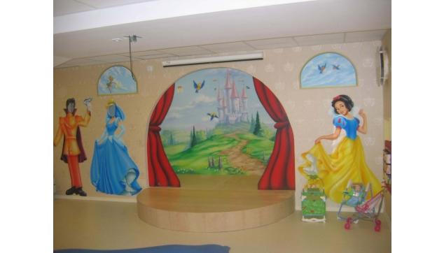 ציורי קיר בבתי מלון
