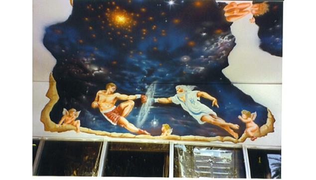 ציורי קיר חלל ושמיים
