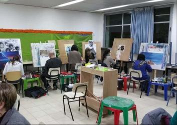 לומדים לצייר