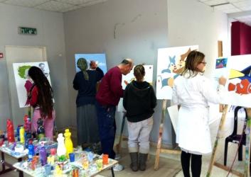 לימודי ציור בבית הלל