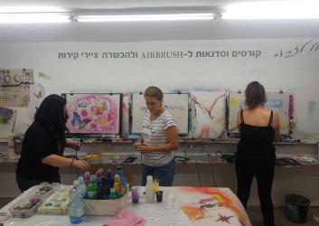 לימוד ציור סדנאות וקורסים