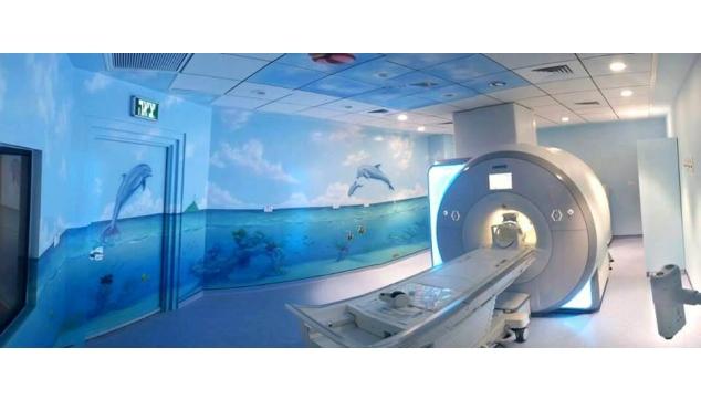 ציורי קיר במרפאות ובבתי חולים