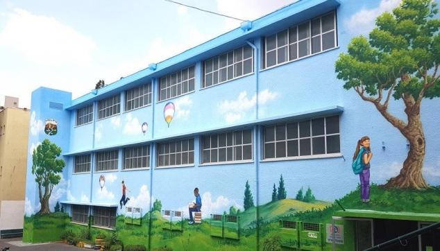 ציורי קיר לבתי הספר