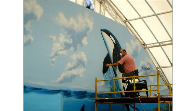 ציורי קיר עולם המים