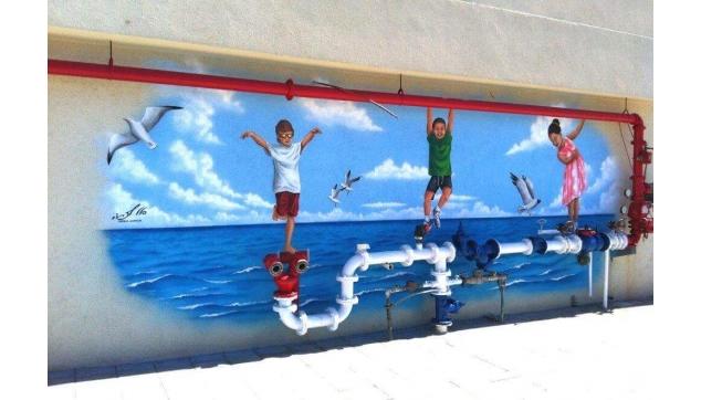 ציורי קיר תלת מימד