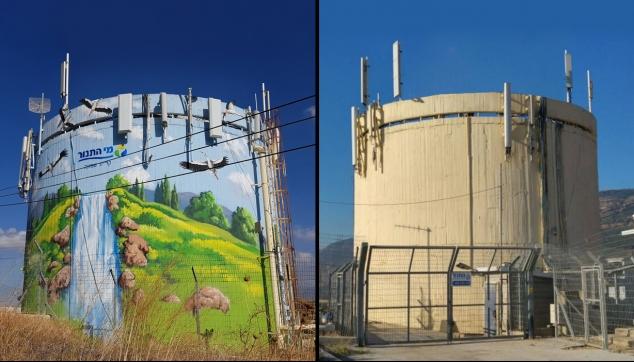 פרויקט חברת BIG ארט מגדל מים מי תנור